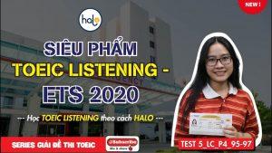 Giải đề ETS 2020 Listening Part 4 Test 5