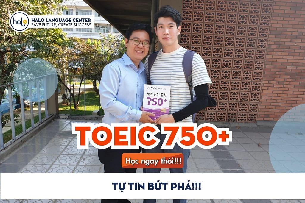Khóa học TOEIC 750+ Cam Kết Đầu Ra