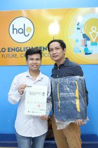 Chúc mừng bạn Lý Quang Minh đạt được IELTS 5.5