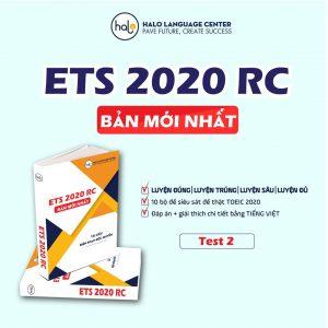 ETS 2020 Test 2