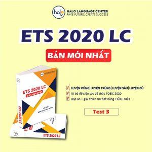 ETS 2020 Test 3