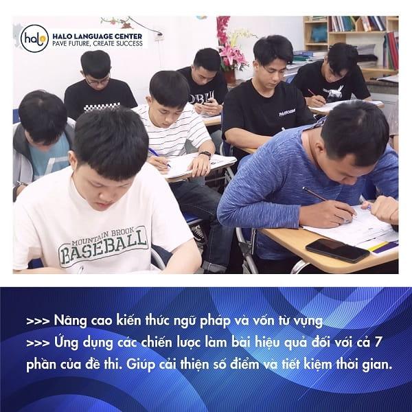 Lớp học TOEIC 750+