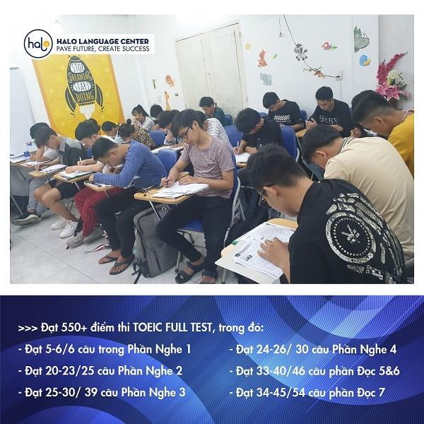 Học viên khóa TOEIC 750+