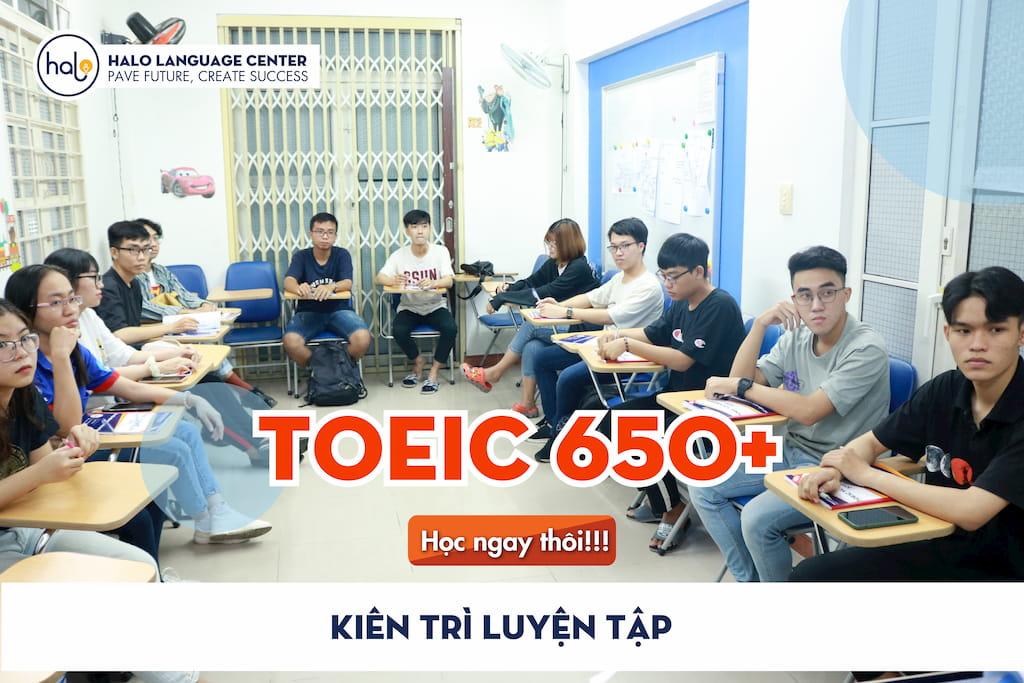 Khóa học TOEIC 650+ Cam Kết Đầu Ra