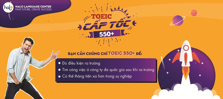Luyện Thi TOEIC 550 Cấp Tốc