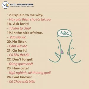 32 mẫu câu tiếng anh thông dụng nhất