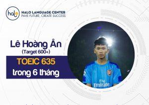 Feedback Lê Hoàng Ân TOIEC 635