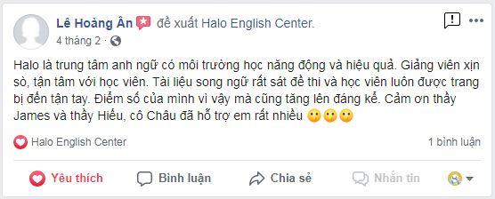 Feedback học viên Lê Hoàng Ân