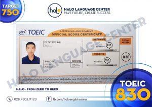 Trải nghiệm kỳ thi TOEIC tại IIG của bạn Hồ Tấn Minh Quân này 26/12/2020