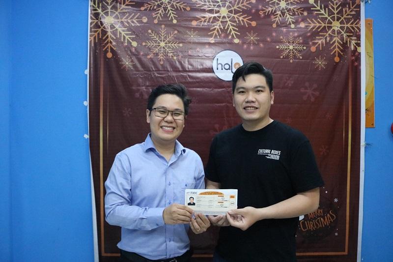 Nguyen Minh Thuan toeic 600 feedback