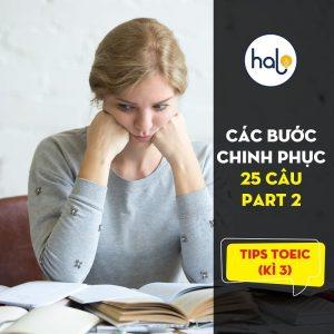 Tip TOEIC – Kì 2: Cách đạt 5/6 - 6/6 trong Part 1 - LC