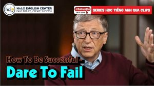 How To Be Successful - Dare To Fail