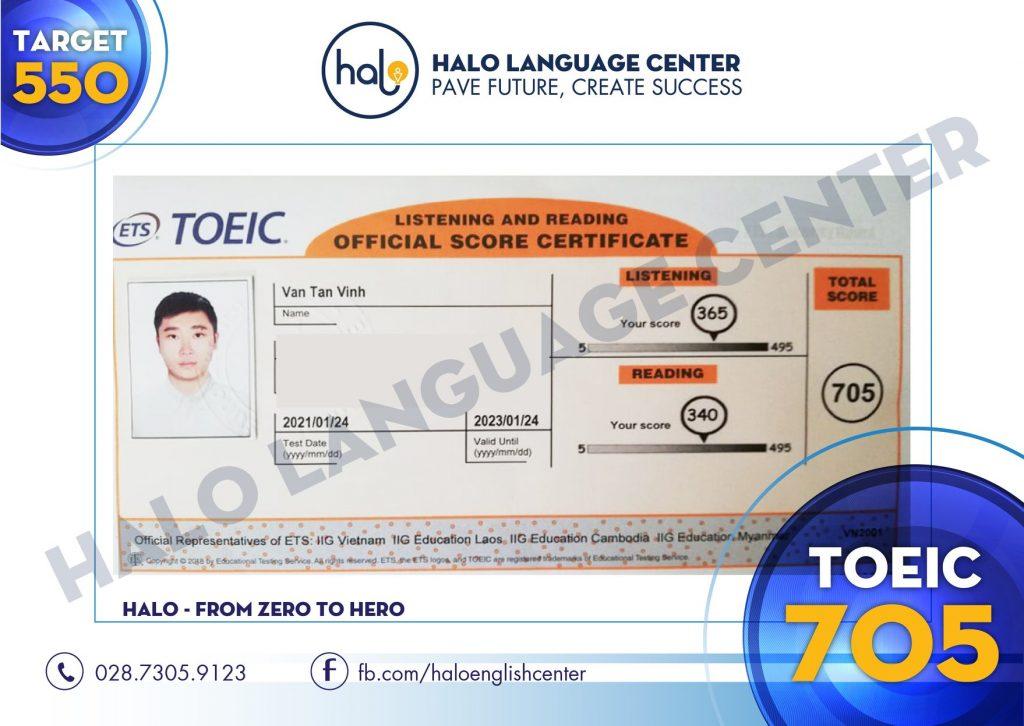 Van Tan Vinh Toeic 705
