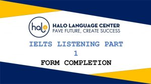 IELTS Listening Part 1 Form Completion