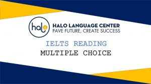 IELTS Reading Multiple Choice