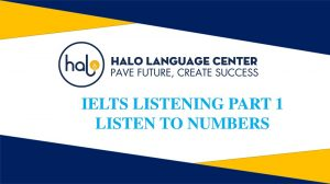 IELTS Listening Listen To Numbers