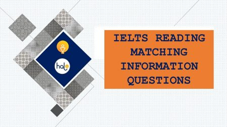 IELTS Reading Matching Information Quesions