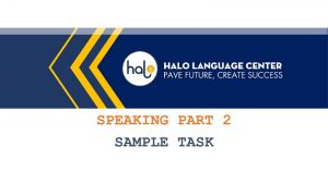 IELTS Speaking Part 2 Taking Notes Simple Task