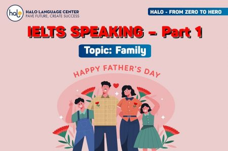 IETLS Speaking Family Fathe's Day Part 1