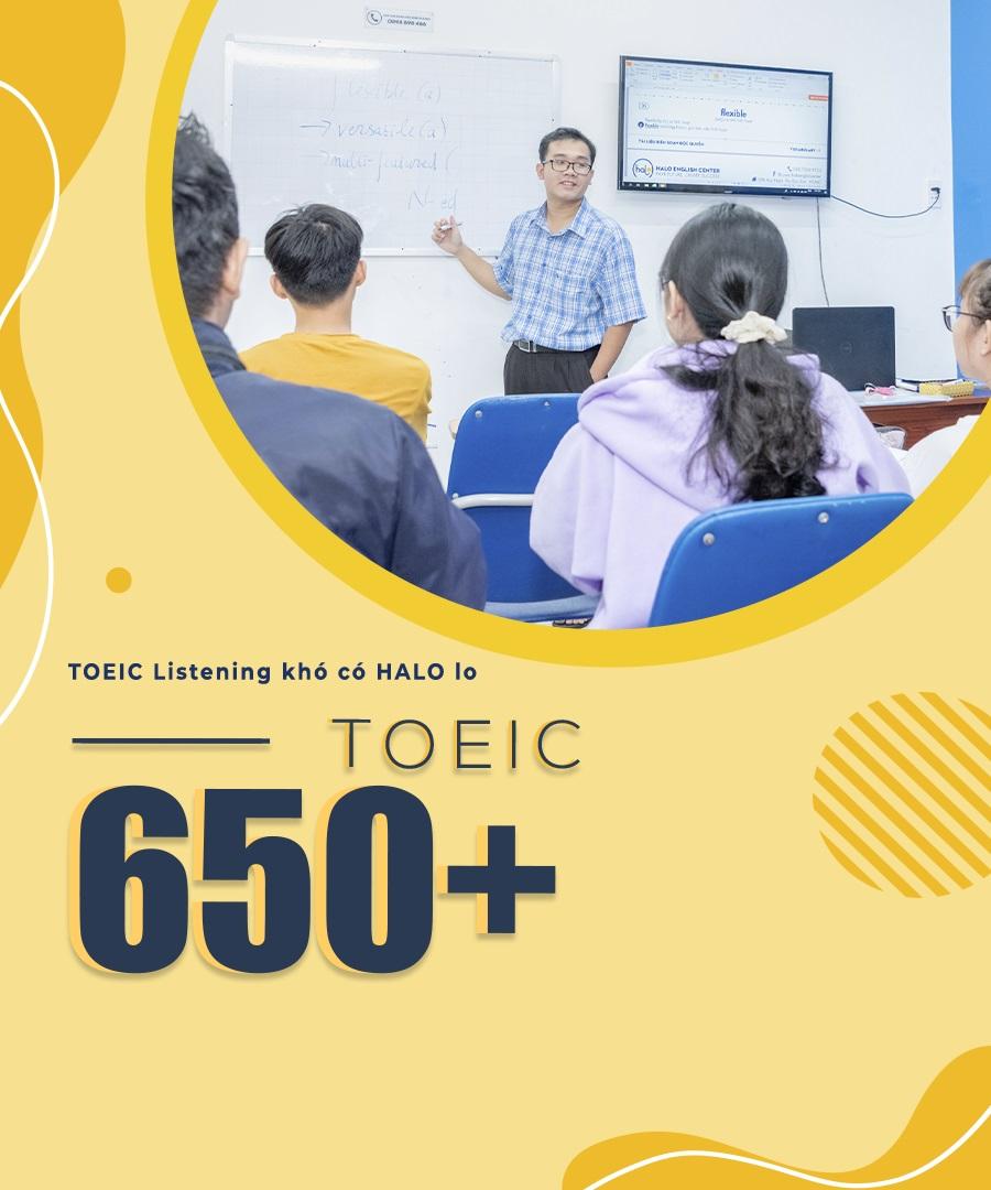 Khoa Hoc TOEIC 650 Mobile
