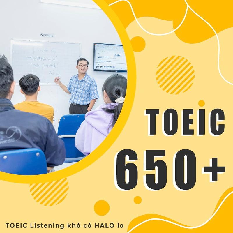 Khóa Học TOEIC 650