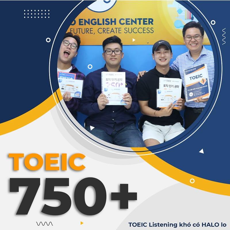 Khóa Học TOEIC 750