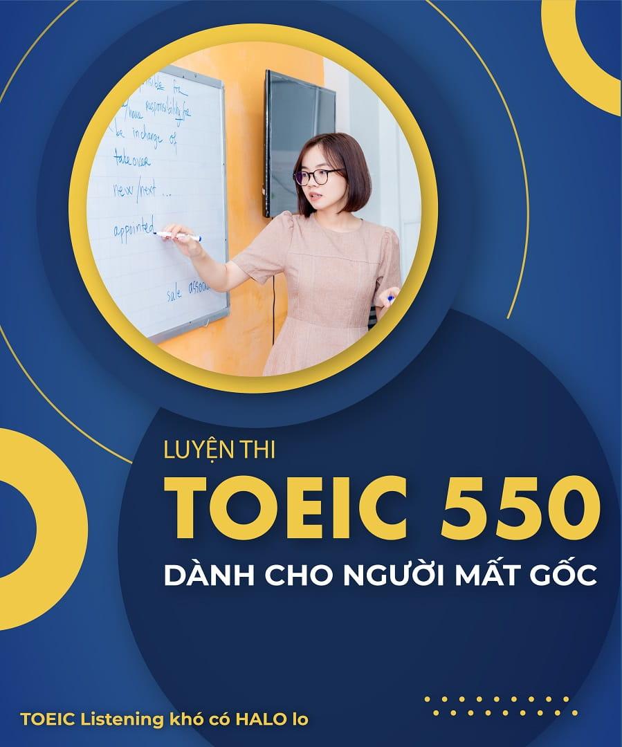 khoa hoc luyen thi toeic 550 mobile