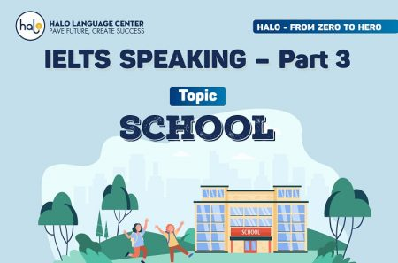 IELTS Speaking Part 3 Topic School (Question And Answer)