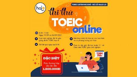 Thi Thử TOEIC Online Tháng 9