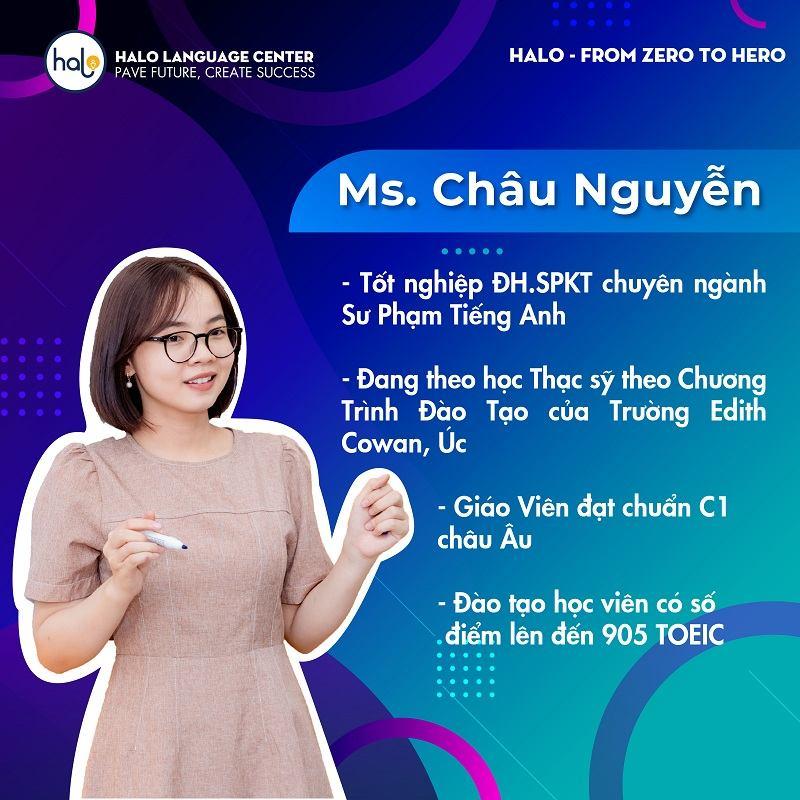 Giáo Viên Halo Châu Nguyễn