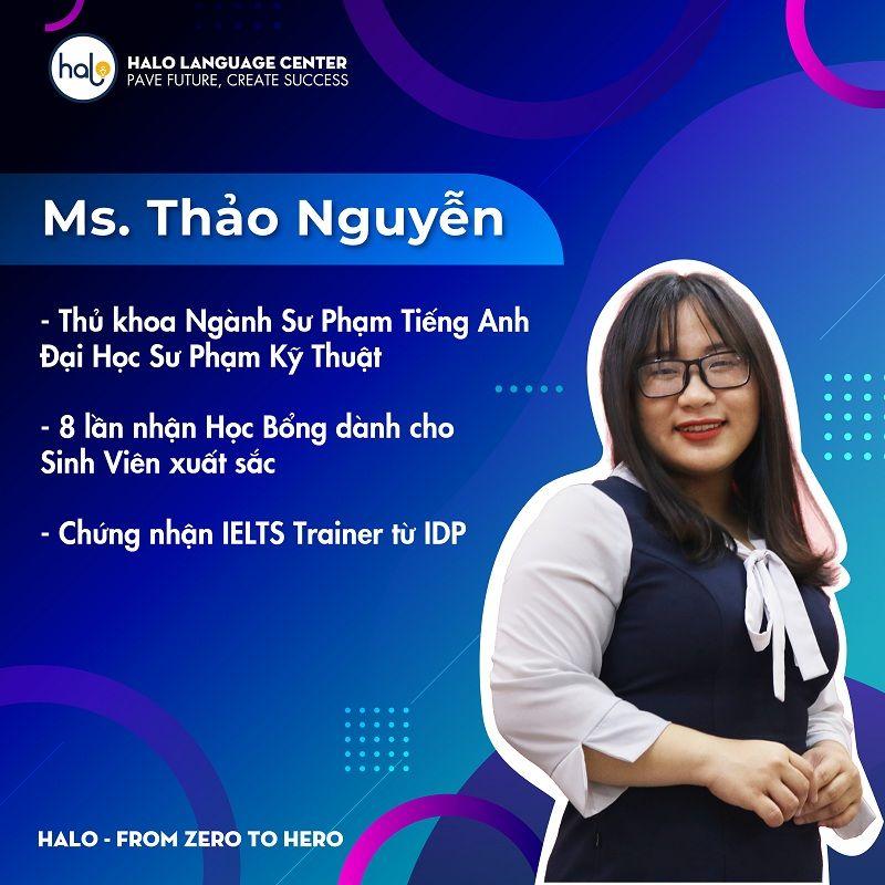 Giáo Viên Halo Thảo Nguyễn