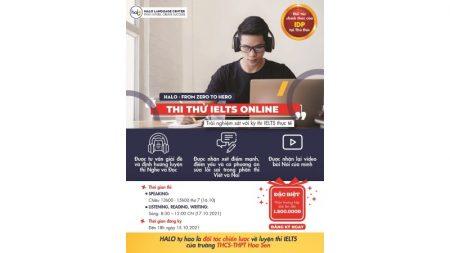 Thi Thử IELTS Online Nhận Ngay Quà Chất - Thi IELTS Online Tháng 10